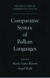 Comparative Syntax of Balkan Languages image