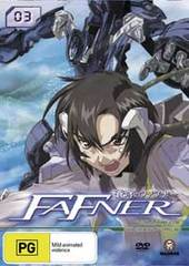 Fafner - Vol. 3: Human Force on DVD