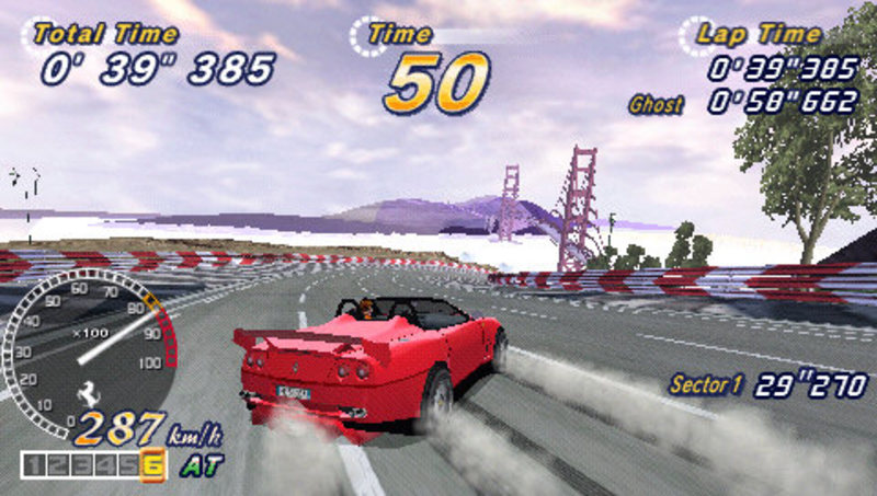 OutRun 2006: Coast 2 Coast for PSP image