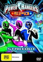 Power Rangers SPD - Vol. 2: Stakeout on DVD