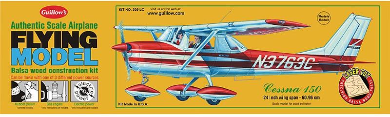 Cessna 150 1:16 Balsa Model Kit image