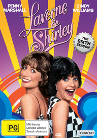 Laverne & Shirley Season 6 on DVD