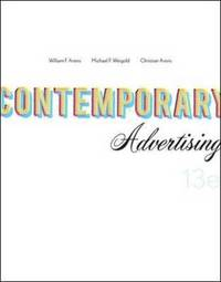 Contemporary Advertising by William F. Arens image