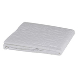 Brolly Sheets Waterproof Quilted Mattress Protector - King Single