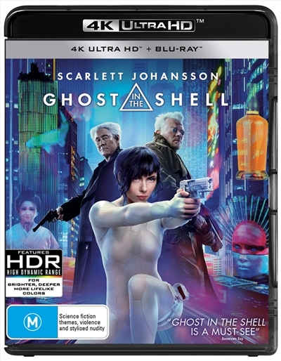 Ghost In The Shell on Blu-ray, UHD Blu-ray image