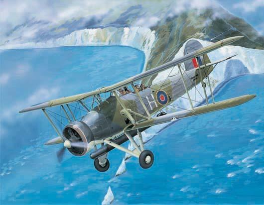 Trumpeter 1/32 Fairey Swordfish Mk. I - Scale Model