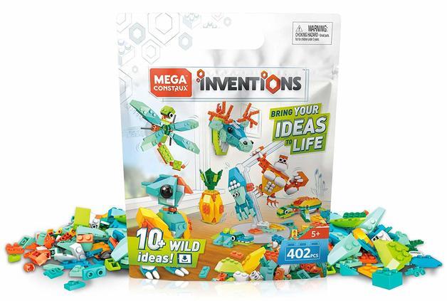 Mega Construx: Inventions - Wild Brick Pack