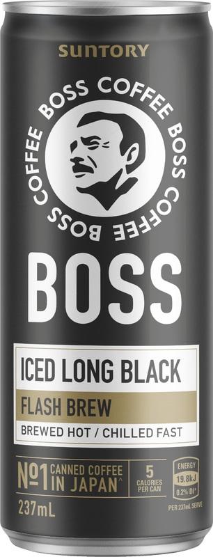 Boss Coffee Black (12 pack)