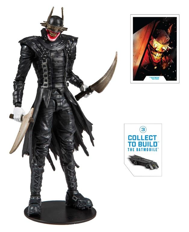 """DC Multiverse: Batman Who Laughs - 7"""" Build-A-Figure"""