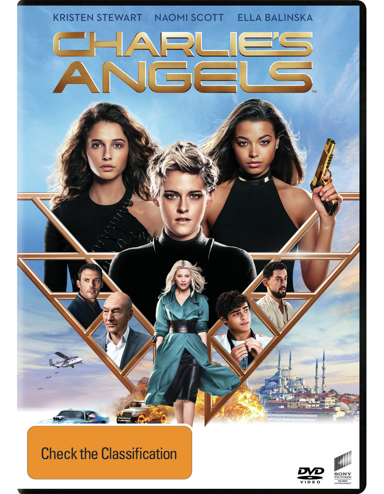 Charlie's Angels (2019) on DVD image