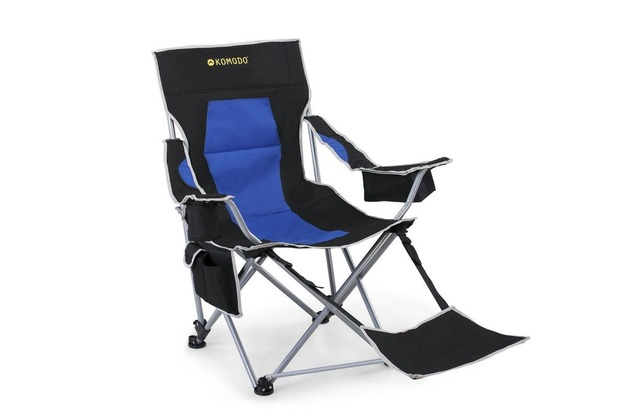 Komodo: Deluxe Camping Chair with Footrest
