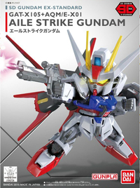 SD Gundam EX: Aile Strike Gundam - Model Kit