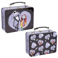 The Nightmare Before Christmas Large Tin Tote (Jack and Sally)