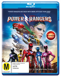 Saban's Power Rangers on Blu-ray