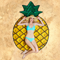 BigMouth Gigantic Pineapple Beach Blanket