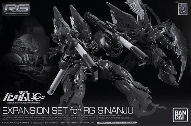 RG 1/144 Expansion Parts Set For Sinanju - Model Kit