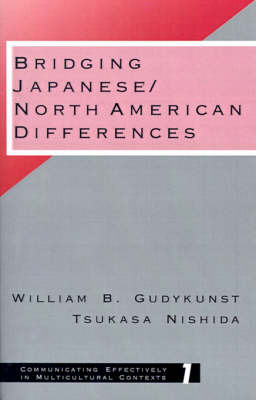 Bridging Japanese/North American Differences by William B Gudykunst image