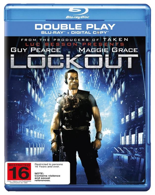 Lockout on Blu-ray, DC