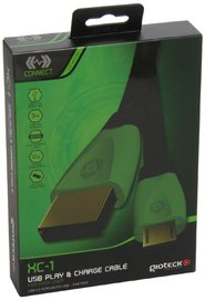 Gioteck XC-1 Play & Charge Cable for Xbox One