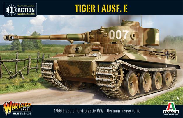 German Army - Tiger I Ausf. E Heavy Tank