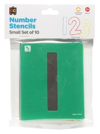 EC Colours - Number Stencil Set - Pack of 10