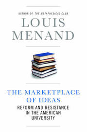The Marketplace of Ideas by Louis Menand image