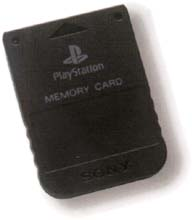 1 Meg PSX Memory Card -Transparent Black