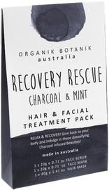 Organik Botanik Splotch Recovery Rescue Hair & Facial Treatment Pack (Charcoal)