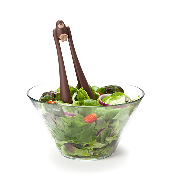 Bigfoot Salad Tongs (Brown) image