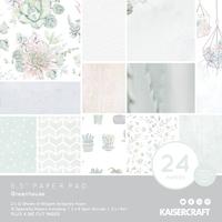 "Kaisercraft: Paper Pad 6.5"" x 6.5"" - Greenhouse"