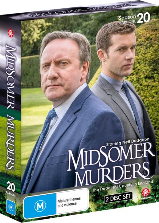 Midsomer Murders: Season 20 - Part 1 on DVD