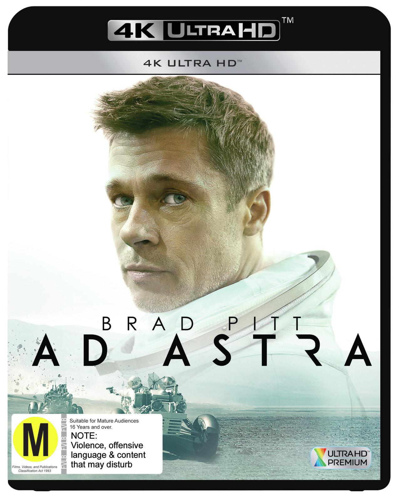 Ad Astra on UHD Blu-ray image