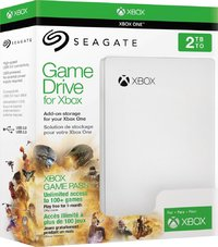 2TB Seagate Game Drive for Xbox (White) for