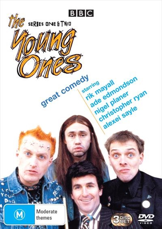 The Young Ones - Series 1 - 2 on DVD