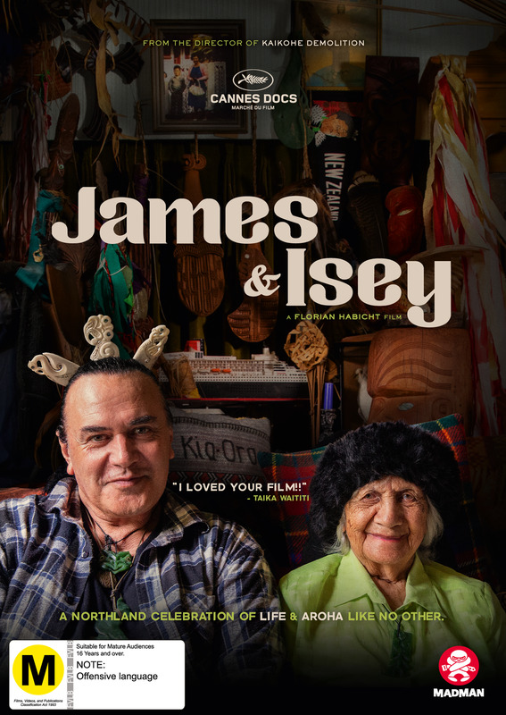 James & Isey on DVD