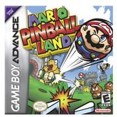 Mario Pinball Land for Game Boy Advance