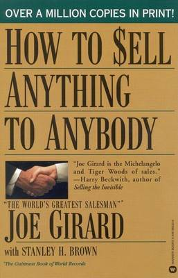 How to Sell Anything to Anybody by Joe Girard image
