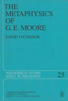 The Metaphysics of G. E. Moore by David O'Connor image
