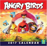 Angry Birds 2017 Square Wall Calendar by Rovio