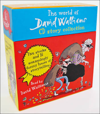The World of David Walliams CD Story Collection: The Boy in the dress/Mr Stink/Billionaire boy/Gangsta granny/Ratburger by David Walliams
