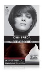 John Frieda Precision Foam Colour - 5R (Medium Red Brown)