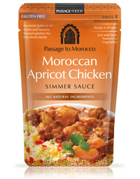 Passage to Morocco - Moroccan Apricot Chicken Simmer Sauce 200g