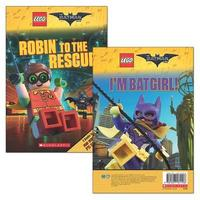 The LEGO Batman Movie: Robin to the Rescue / I'm B atgirl! by Tracey West