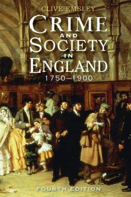 Crime and Society in England by Clive Emsley image