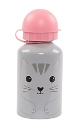 Kawaii Friends: Nori Cat - Water Bottle