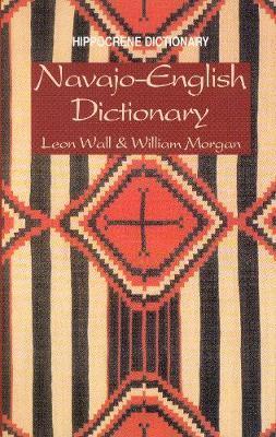 Navajo-English Dictionary by Leon Wall image