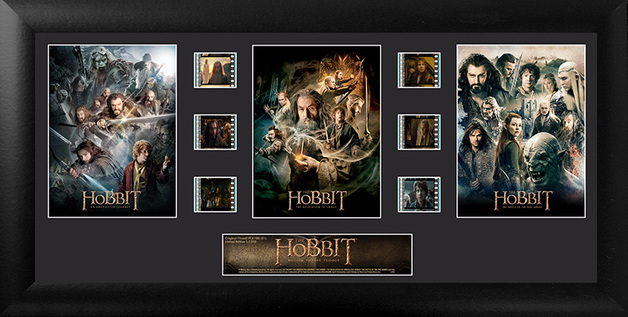 FilmCells: Montage Frame - The Hobbit (Character Trilogy)