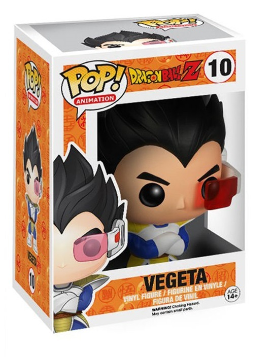 Dragon Ball Z - Vegeta Pop! Vinyl Figure image