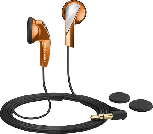 Sennheiser MX 365 Stereo Ear Phones - Orange