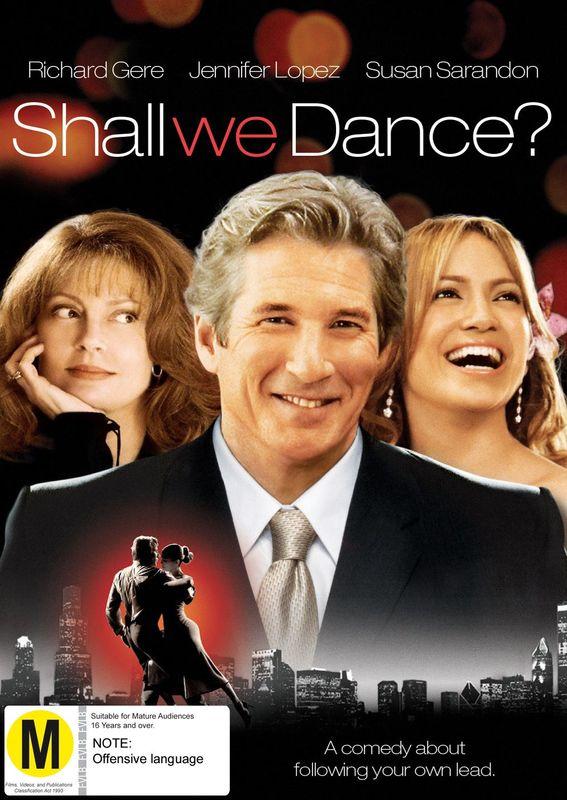 Shall We Dance on DVD